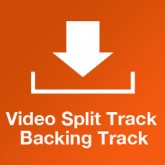 Split Track backing track for Because of your Love by Brenton Brown and Paul Baloche