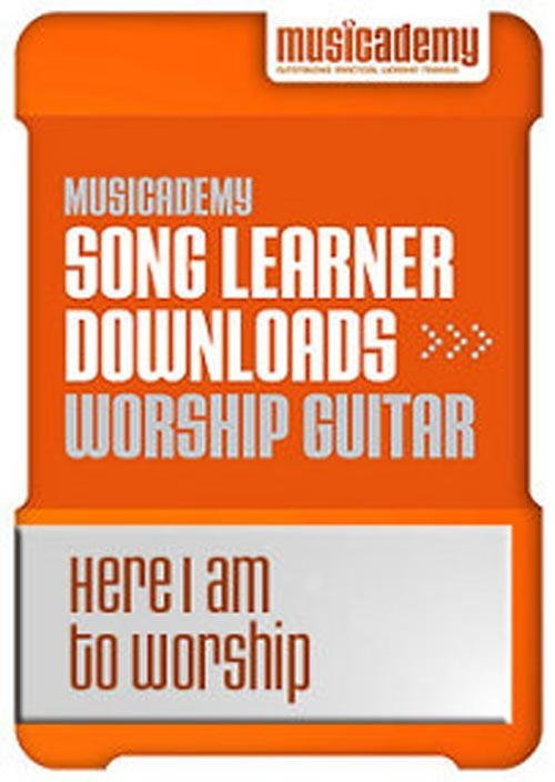 Here I am to Worship Guitar chords & video online lesson