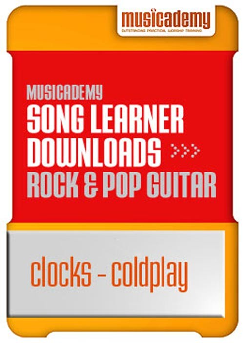 Clocks Coldplay Guitar Chords Video Online Lesson