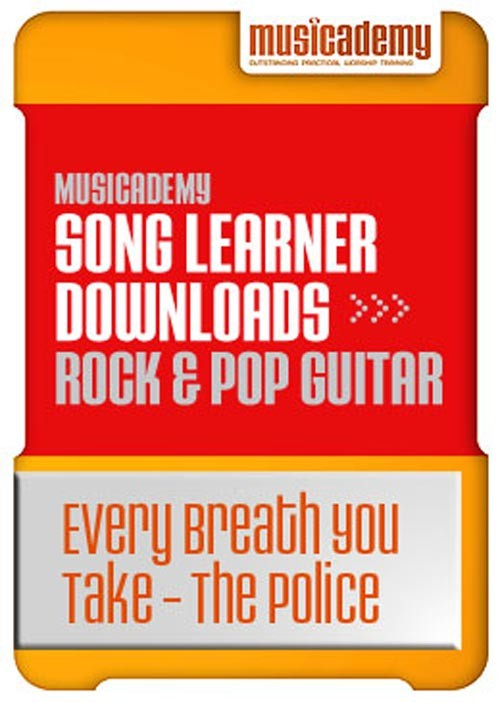 Every Breath You Take The Police Guitar chords & video online lesson