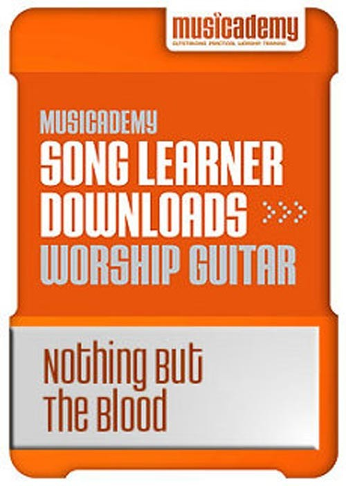 Nothing But The Blood Guitar chords & video online lesson