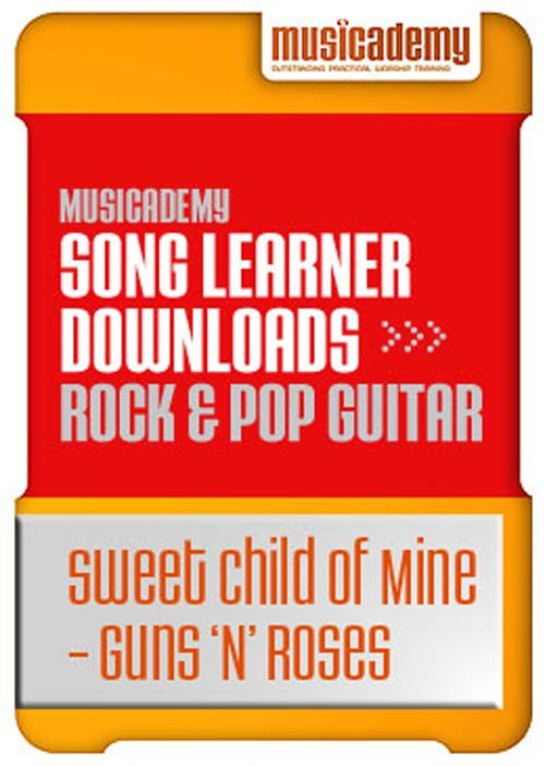 Sweet Child Of Mine Guns N Roses Guitar Chords Video Online Lesson