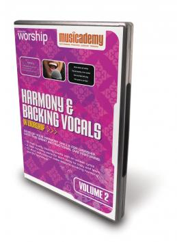 harmony backing vocals in worship volume 2