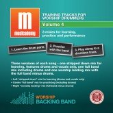 Training tracks for worship drummers