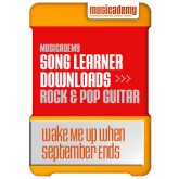 Wake Me Up When September Ends - Green Day (Stage 5, Lesson