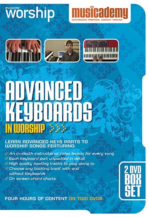 Advanced worship keyboard training  Learn to play piano