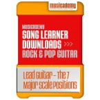 Lead Guitar - The 7 Major Scale Positions (Stage 7, Lesson 3)