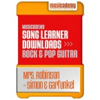 Mrs Robinson - Simon & Garfunkel (Stage 2 Lesson 3)
