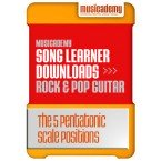 The 5 Pentatonic Scale Positions (Stage 6, Lesson 4)