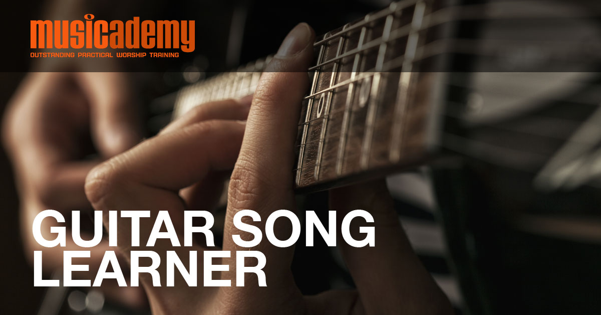 Guitar Song Learner Indescribable Musicademy
