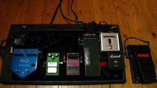 Gear Confessional – my pedal rig (for those who care!)