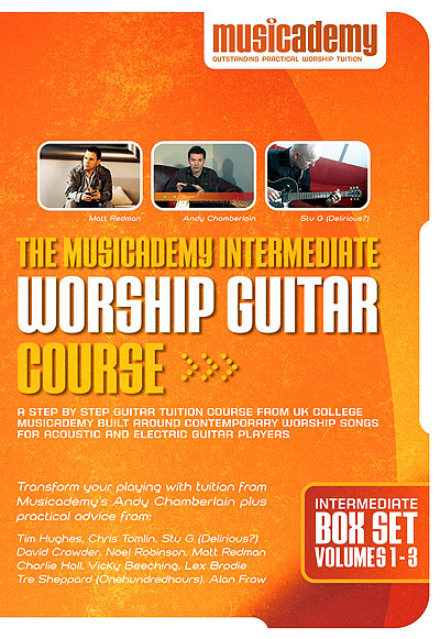 Musicademy Intermediate Acoustic Worship Guitar Box Set