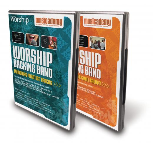 Musicademy Worship Backing Tracks DVDs