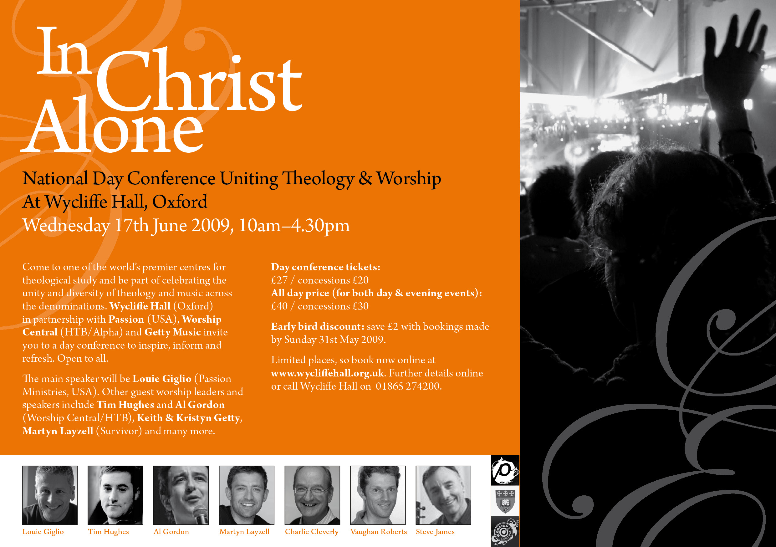 In Christ Alone – Louie Giglio, Tim Hughes, Keith Getty and others at Oxford conference