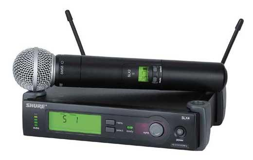 Shure-wireless-mic